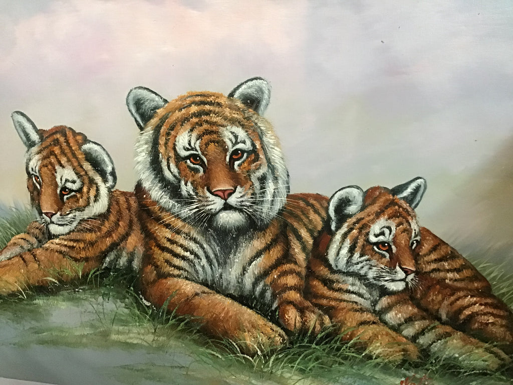 Mother and her cubs