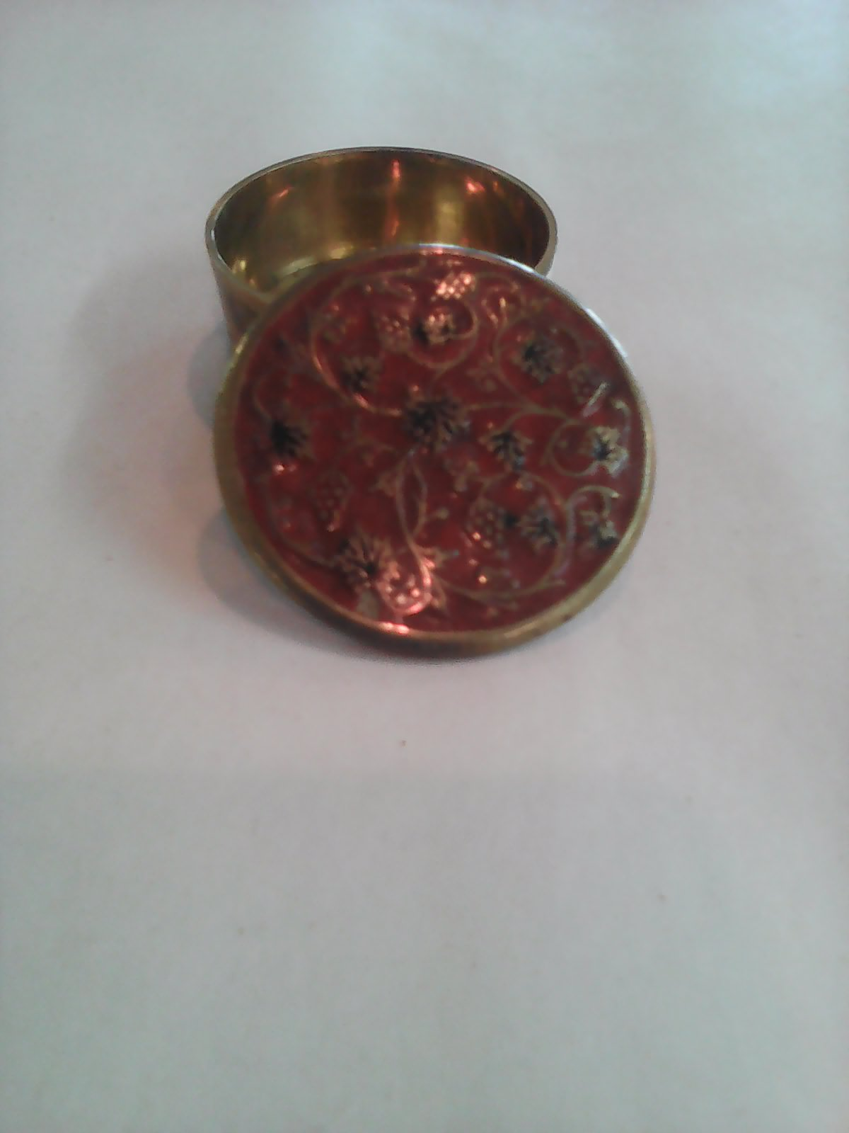 Small Oriental Pill Box