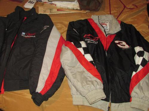 Dale Earnhardt Jackets - Qty 2 - Size Adult Medium