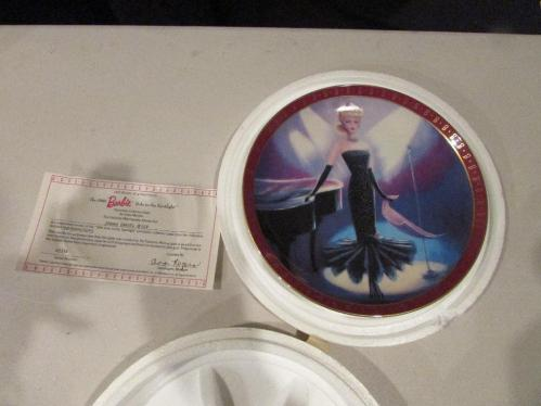 The Danbury Mint Barbie Porcelain Collector Plate