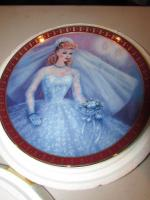 The Danbury Mint Barbie Bride-to-Be Porcelain Collector Plate