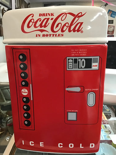 Coca=Cola Cookie Jar