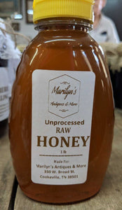 Unprocessed Raw Honey