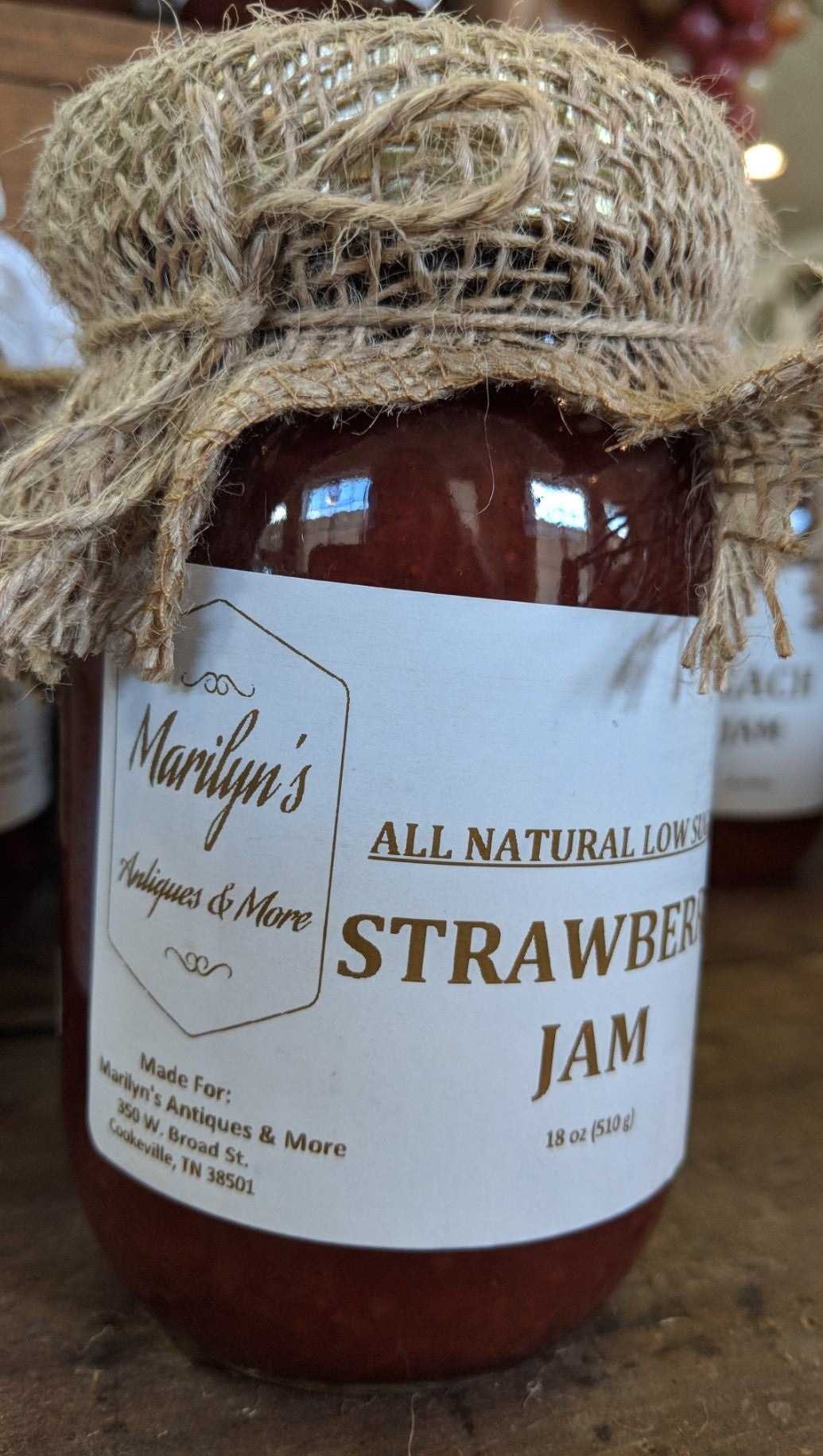 All Natural Low Sugar Strawberry Jam