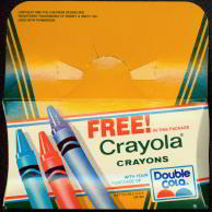 Double Cola Bottle Rider Crayola Crayons Giveaway