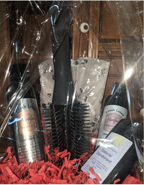 Hair Care Gift Basket