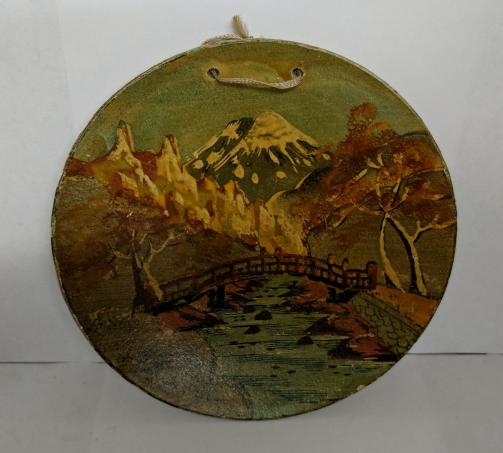 6 inch Plate - Hand Painted -Made in Japan