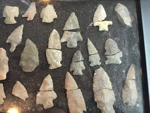Tennessee Indian Arrowhead Collection