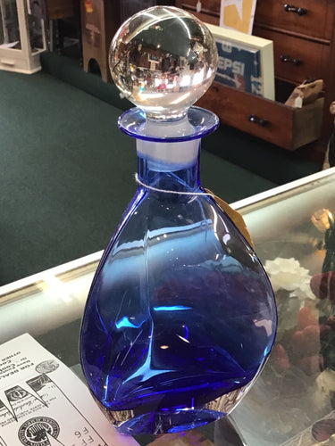 Kobalt & Crystal Decanter