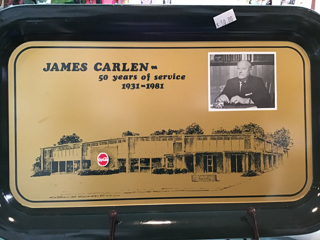 James Carlen Coke Tray