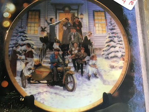 "Harley Davidson Collectors Plate ""After The Pageant"" #2"