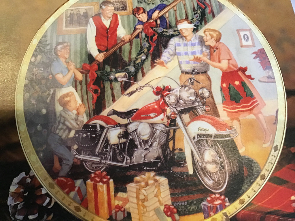 "Harley Davidson Collectors Plate ""Electra Glide Surprise"""