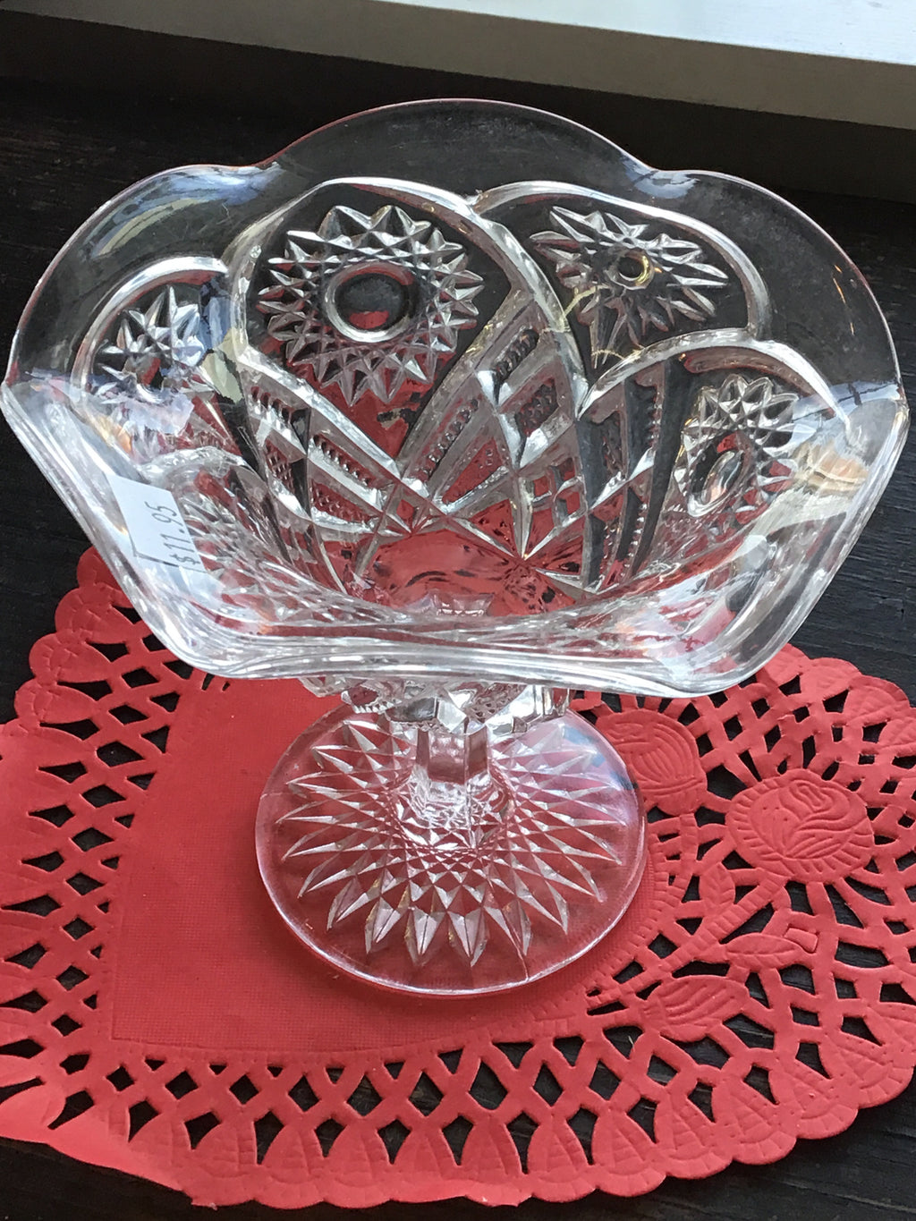 Vintage Sherbert Glass