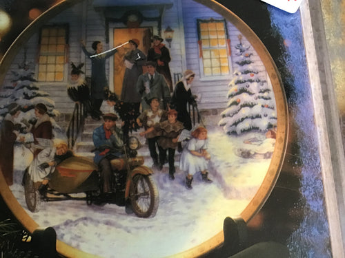 "Harley Davidson Collectors Plate ""After The Pageant"""