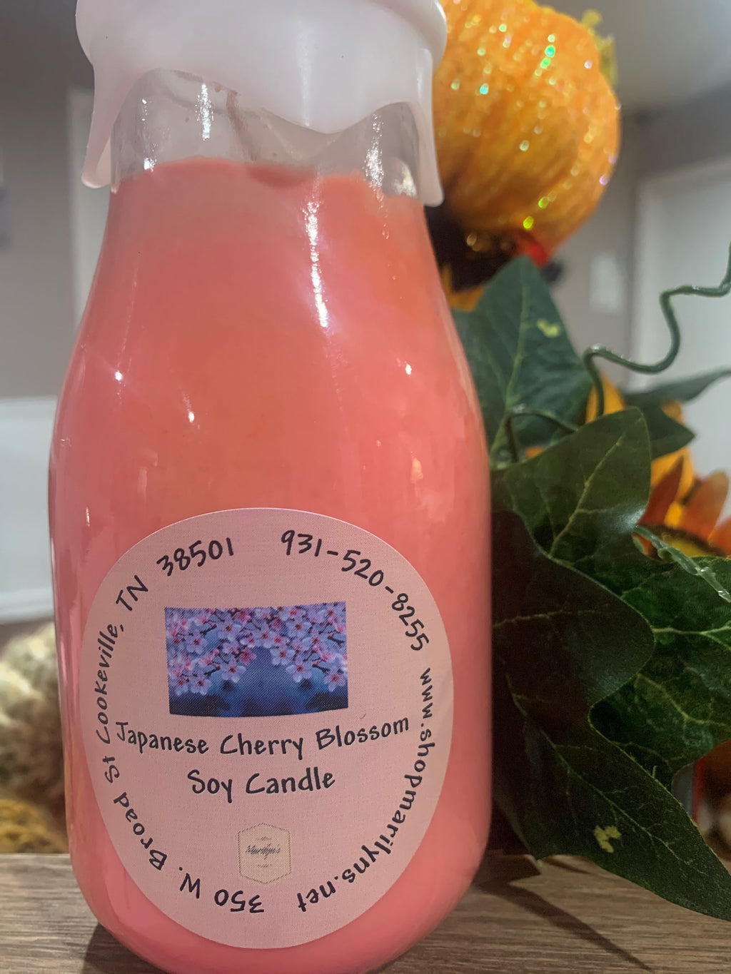 Copy of 16 oz Milk Bottle Soy Candle