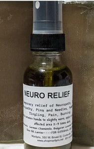 NEURO RELIEF!  An All Natural Massage Oil for Neuropathy