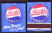 Full Unused Pack of More Bounce to the Ounce Pepsi Matches