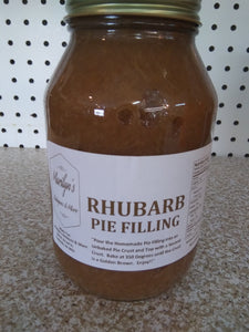Rhubarb Pie Filling