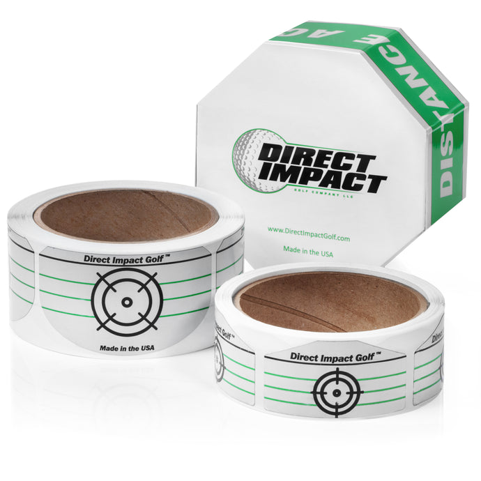 Golf Impact Tape by Direct Impact Golf - Combo Pack
