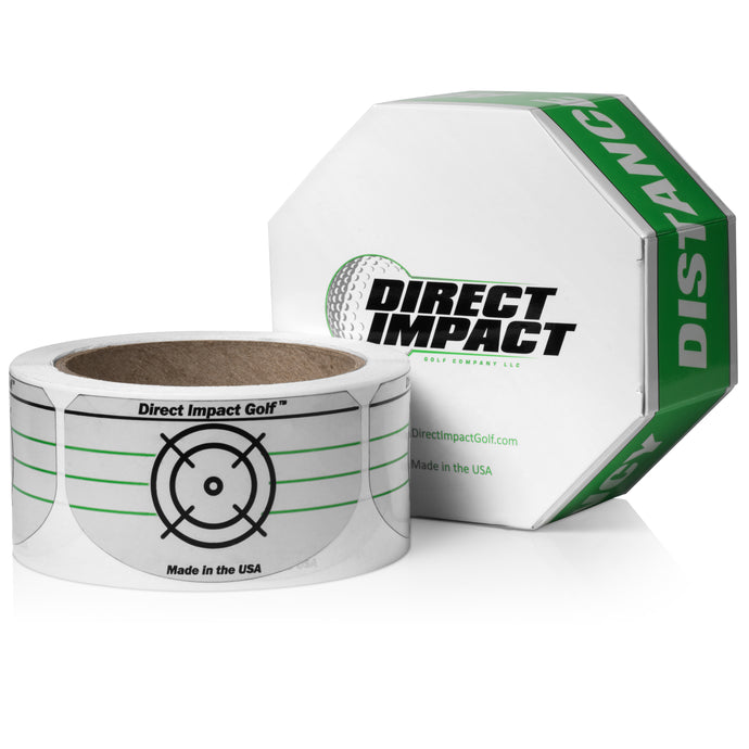 Golf Impact Tape by Direct Impact Golf - Driver Roll of 225
