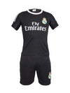 Sportigoo Unisex KIDS Real Madrid Ronaldo 7 Football Jersey - Black