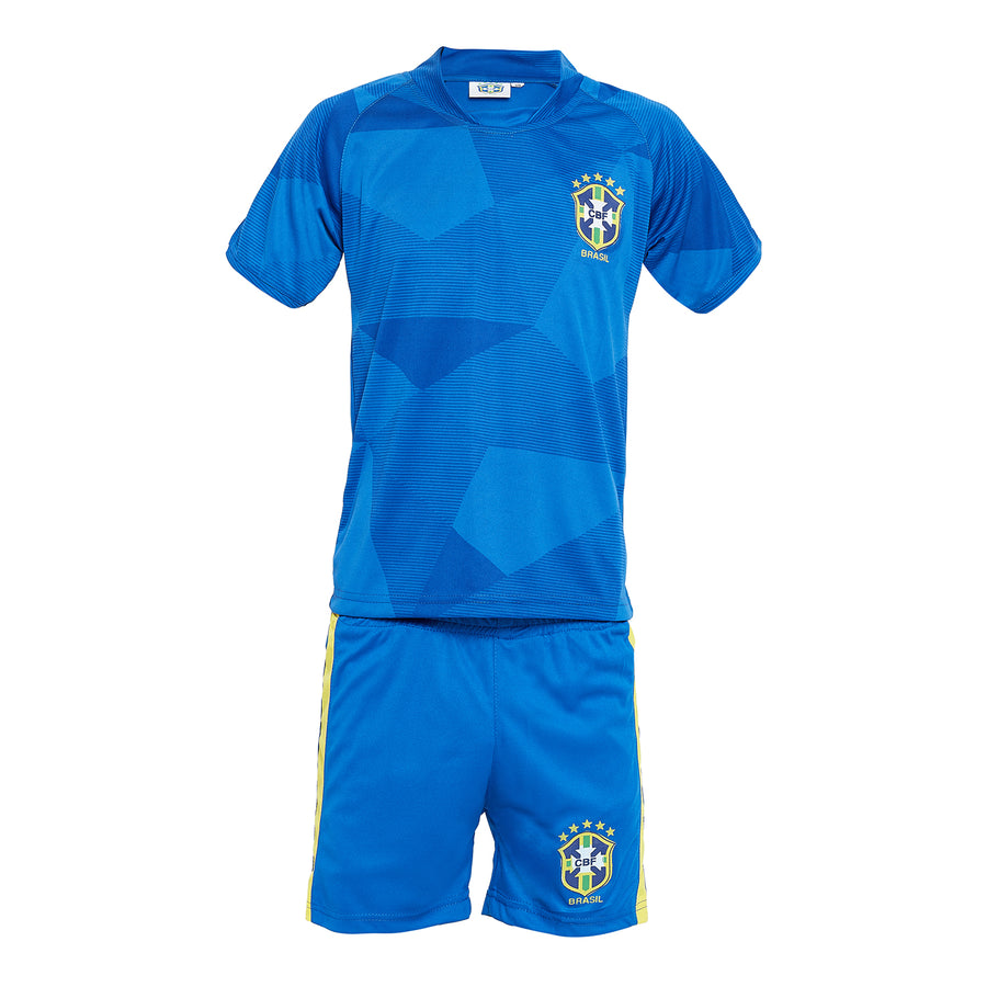 Sportigoo Unisex KIDS Brazil Football Jersey Set - 2018/19