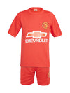 Sportigoo Unisex KIDS Football Jersey - Red