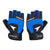 Sportigoo Wrist Support Gym & Fitness Gloves - Black/Blue