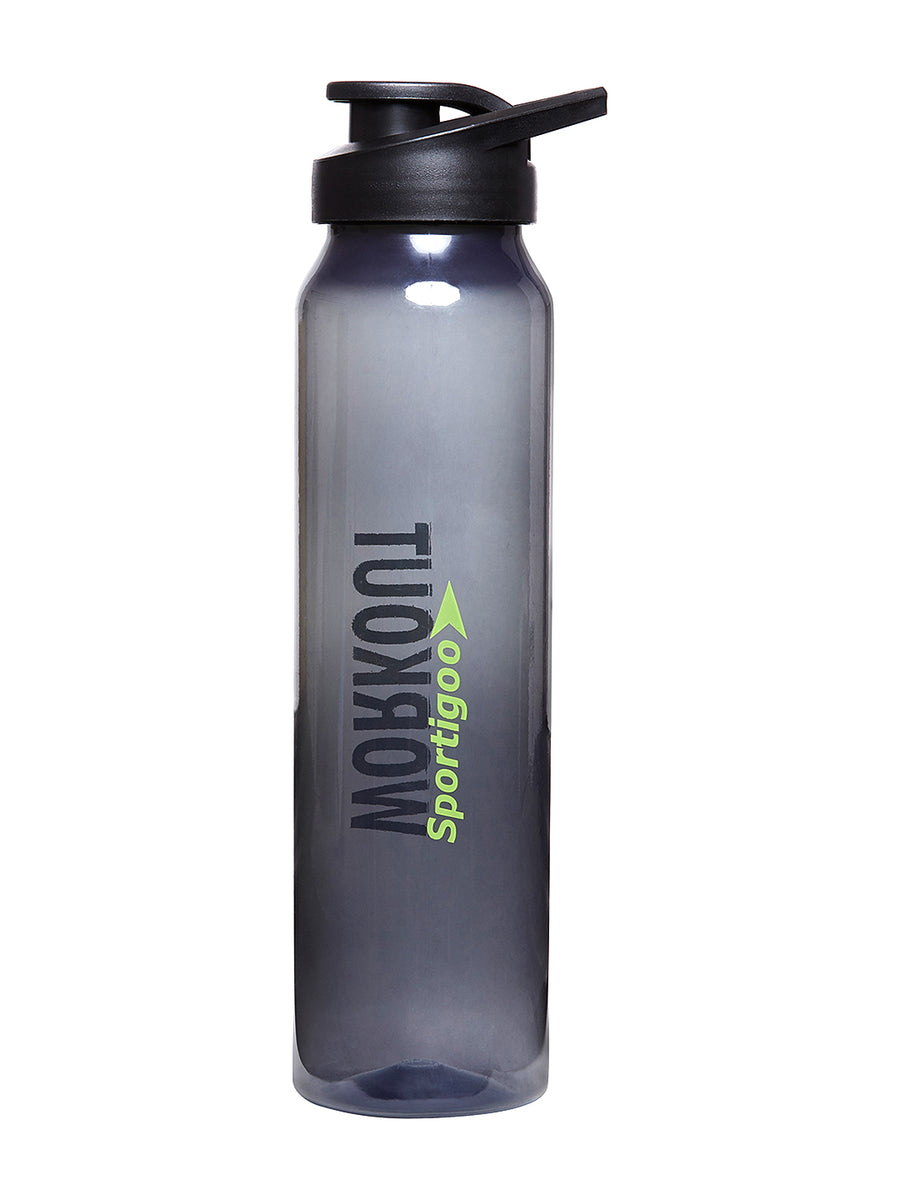 Long Translucent Water Bottle 1000 ml