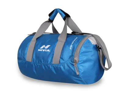 Nivia 5183SB Beast Polyester Blue Gym Bag