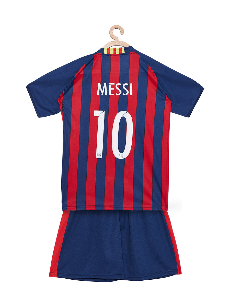 Sportigoo KIDS UNISEX FC Barcelona Football Jersey Set - 2018/19