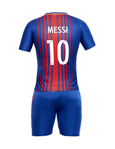Sportigoo KIDS UNISEX FC Barcelona Football Jersey Set - 2017/18