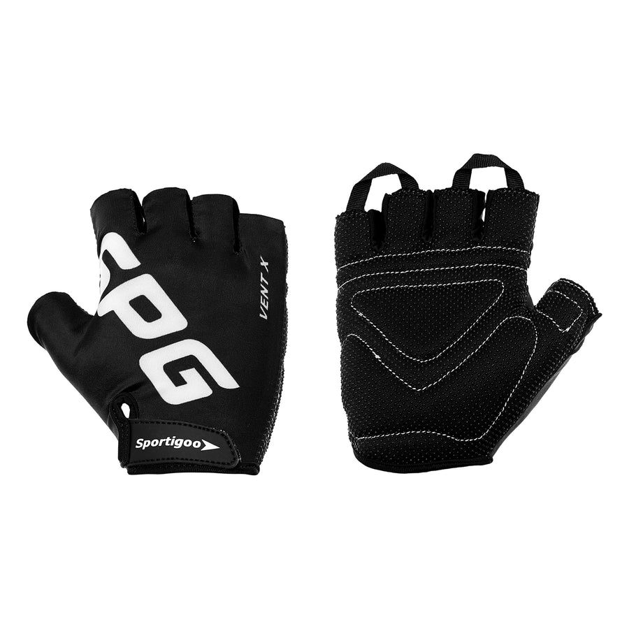 Sportigoo SPG Gym Exercise Fitness Gloves - Black/White