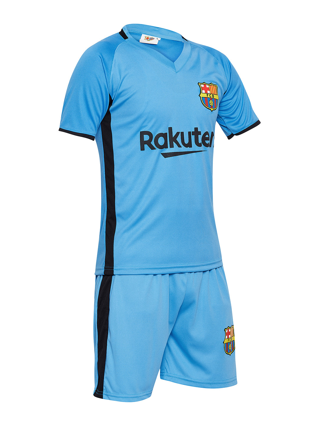 cheap for discount 6e4d0 dde6e Sportigoo Unisex Barcelona KIDS Jersey Set - Blue