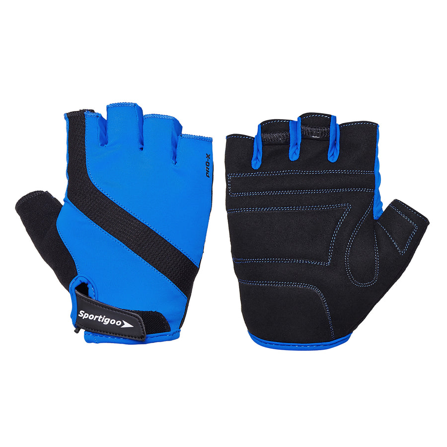 Sportigoo PRO-X Gym & Fitness Gloves - Blue