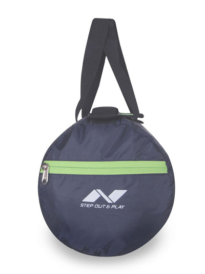 Nivia Deflate Polyester Navy Blue Round Bag Adult