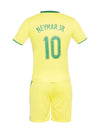 Sportigoo UNISEX KIDS BRAZIL - NEYMAR JR Football Jersey Set