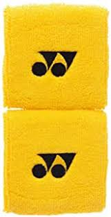 Yonex Badminton Yellow Wristband WB SET of 2