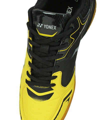 Yonex AK3 Non Marking Badminton Court Shoes - Black/Yellow