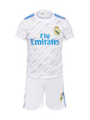 Sportigoo Unisex KIDS Real Madrid Football Jersey Set - 2017/18