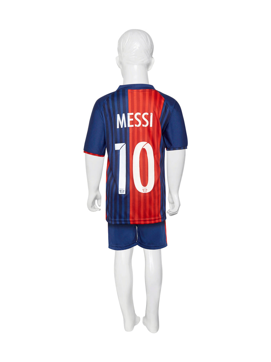 Sportigoo Unisex FC Barcelona KIDS Football Jersey-Red/Blue