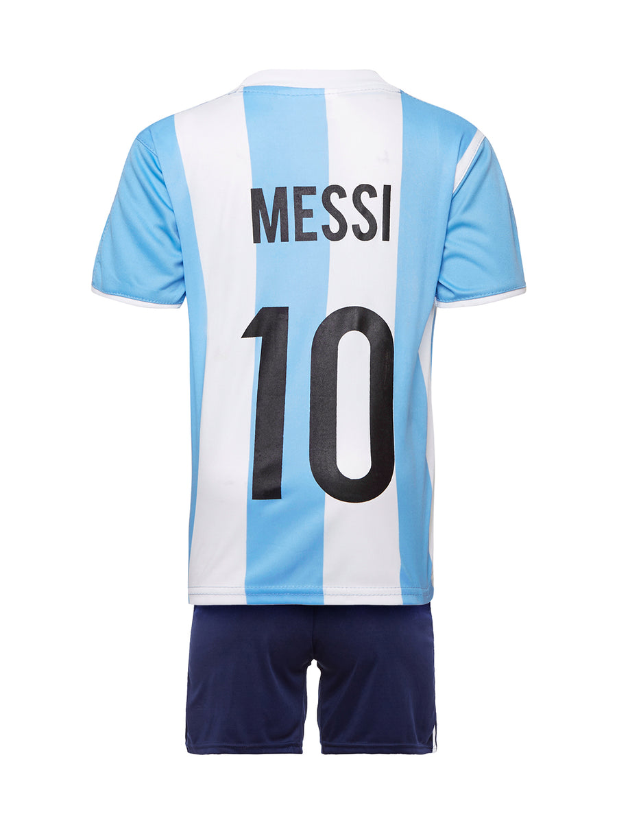 Sportigoo Unisex KIDS Argentina Football Jersey Set