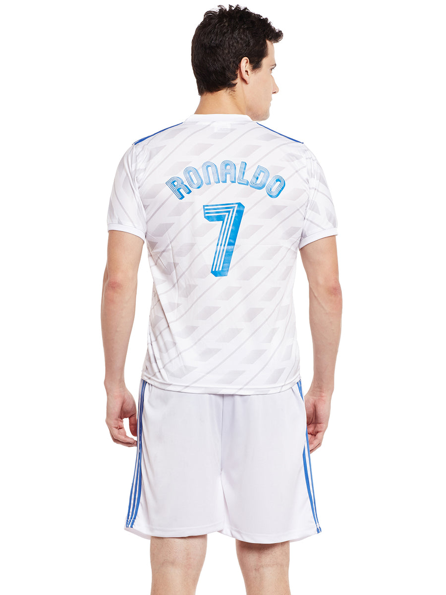 Sportigoo Real Madrid Football Jersey Set - White