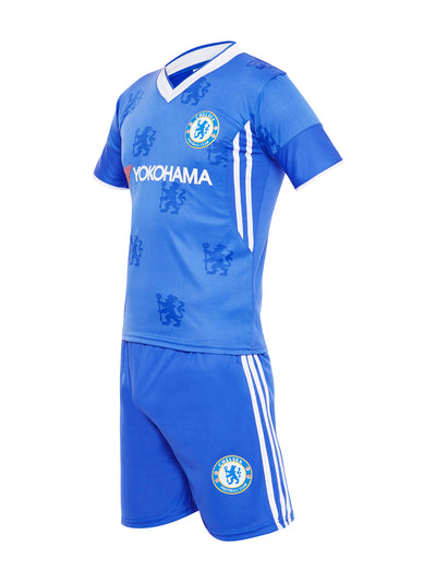 Sportigoo Unisex CHELSEA KIDS Football Jersey Set - Blue