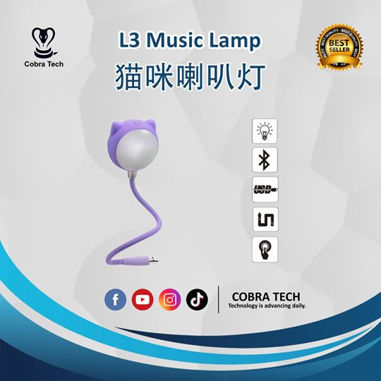 L3 USB Music Lamp