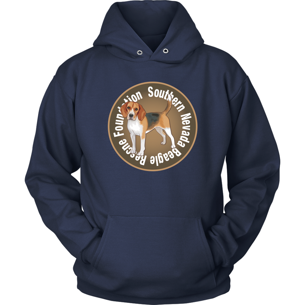 """Southern Nevada Beagle Rescue Foundation"" Unisex Hoodie"