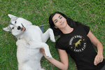 """Adopt A Dog Save A Life"" Women's Triblend T-Shirt"