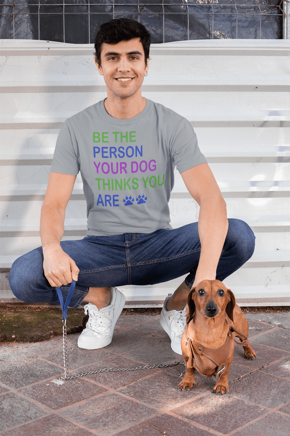 """Be The Person"" Men's Triblend T-Shirt"