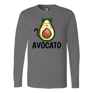 """AVOCATO"" Unisex Long Sleeve Shirt"