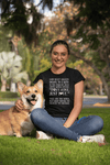"""God Sent Dogs"" Women's Triblend T-Shirt"